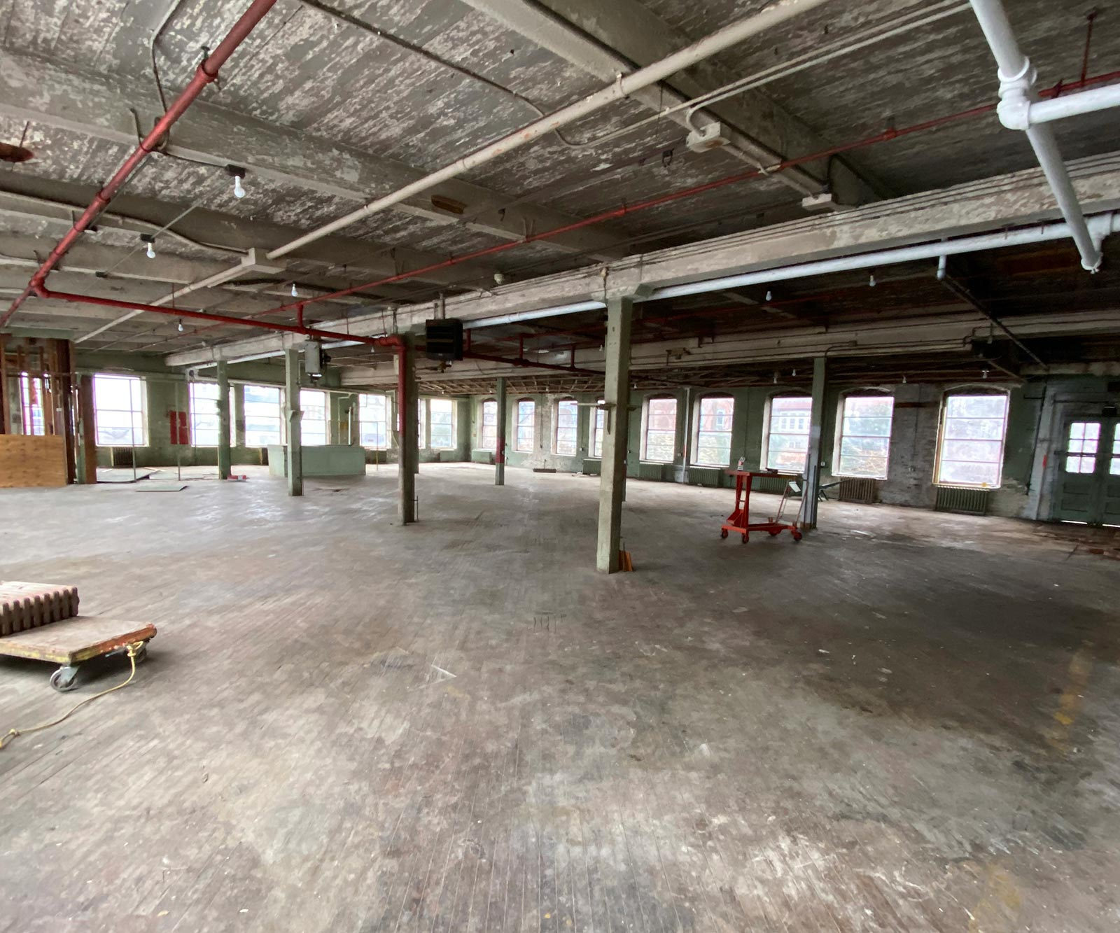 Hatched Spaces - Under Construction